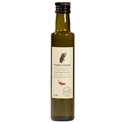 Terra Verde Jalapeno Red Extra Virgin Olive Oil, 250ml ()