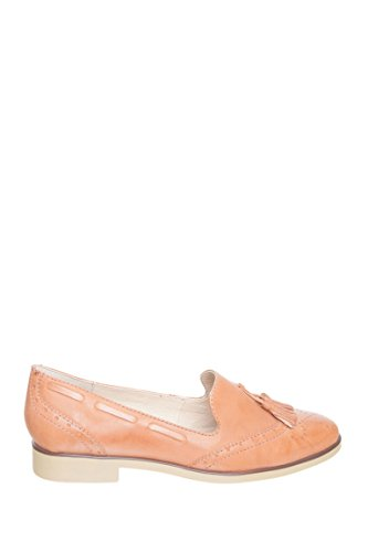 Chelsea Crew Willow Stitch Loafer - Tan