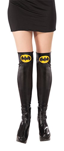 Rubie's Costume Co Women's DC Superheroes Batgirl Boot Tops, Multi, One Size
