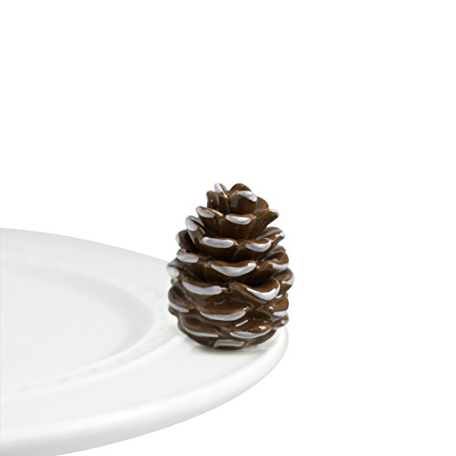 (Nora Fleming Hand-Painted Mini: Pretty Pinecone (Pinecone) A110)