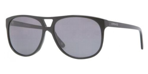 7fc5a7fadd47 Versace Ve4217 Sunglasses (Gb1 81) Black Polar Gray
