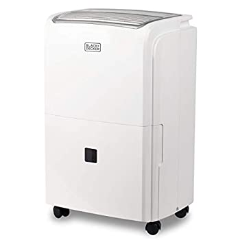 Image of BLACK+DECKER BDT50PWTB 50 Pint Energy Star Portable Dehumidifier with Built-in Pump, w, White Dehumidifiers