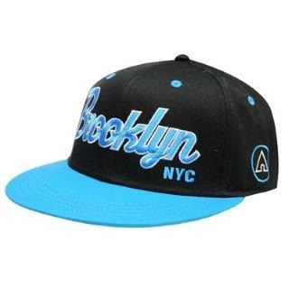 Airwalk Brooklyn Snapback Cap Mens Black Aqua Mens  Amazon.co.uk ... e11c49c9f9a