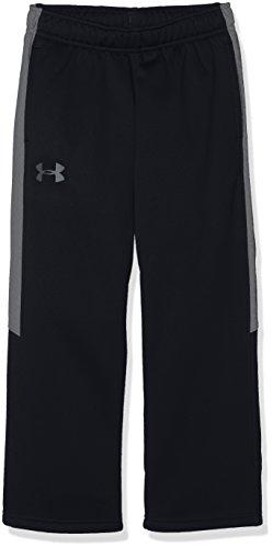 Under Armour Boys PS Armour Fleece Pant, Black/Graphite, YXS by Under Armour (Image #1)