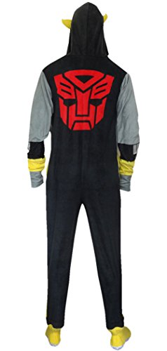Transformers Bumblebee Adult One-Piece Hooded Pajama