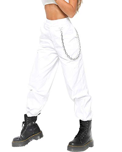 Cargo Blanc Camouflage Combat Sports de Casual Jeans Pantalon Militaire Trousers Jogging Haute Taille Femme Imprim Pantalon Z4Tcqf6Uvv