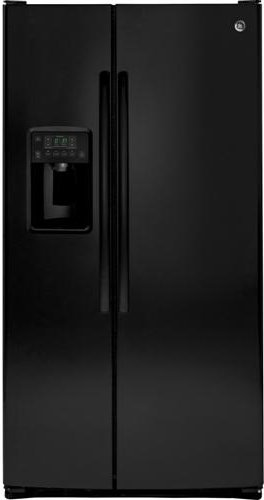 Ge Black Side By Side Refrigerator - 3