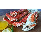 Giant Alaskan King Crab Broken Pieces (Claws and Legs)  Giant Alaskan King Crab Legs