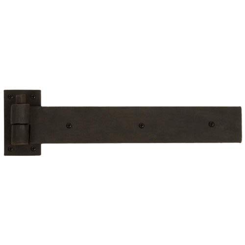 Signature Hardware 296233 3.125'' x 12'' Square Corner Strap Plain Bearing Surface Mount Pintle Hinge - Single Hinge by Signature Hardware