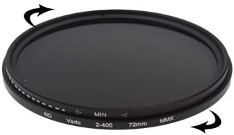 ND2 to ND400 Filter Durable JINGZ 86mm ND Fader Neutral Density Adjustable Variable Filter
