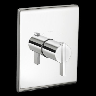 American Standard T184730.002 Times Square Central Thermostat Trim Kit, Chrome