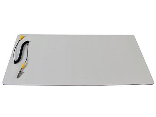 Velleman AS4 Anti-Static Mat with Ground Cable - Desktop static dissipative mat - 11.8