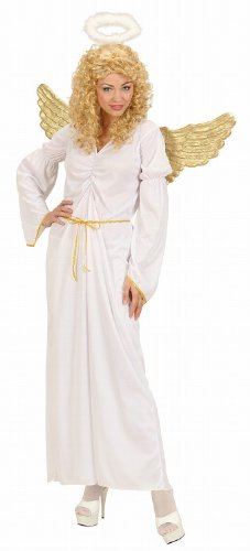 Ladies Angel Costume Small Uk 8-10 For Christmas Panto Nativity Fancy Dress (Panto Costumes Uk)