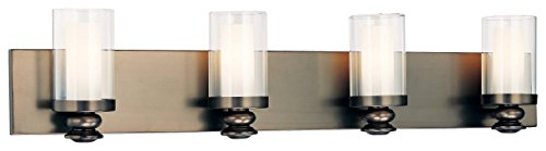 Court Four Light Bath - Minka Lavery Wall Light Fixtures 6364-281 Havard Ct. Bath Vanity Lighting, 4 Light, 300 Watts Halogen, Bronze
