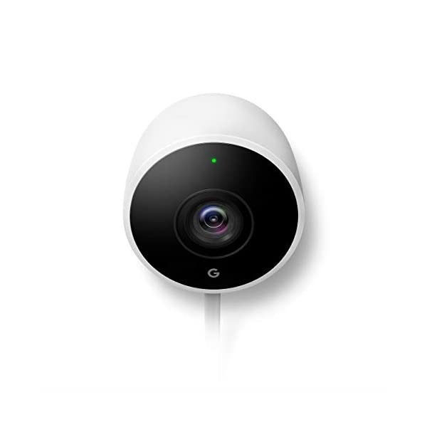 Google Nest Cam Outdoor Weatherproof Outdoor Camera for Home Security Surveillance Camera with Night vision