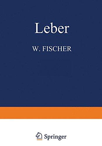 Leber (Handbuch der speziellen pathologischen Anatomie und Histologie) (German Edition)