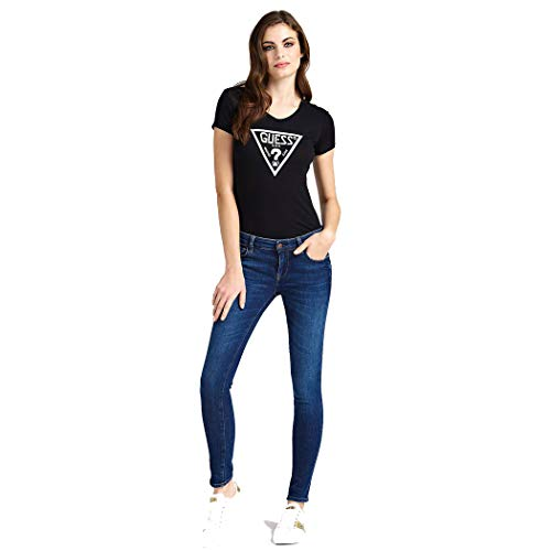 Vn shirt Tee Ss T Triangle Foto Guess Donna 854wUqxX