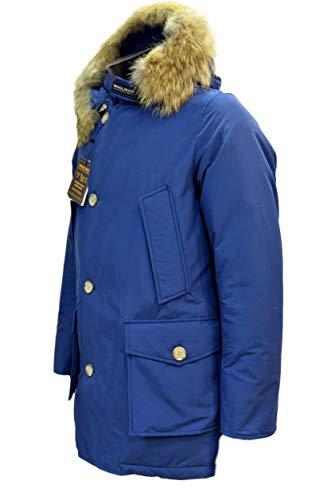 Parka Colore Vedi Blue Arctic Woolrich Foto Df Royal Wocps1674 7wqRxTS5