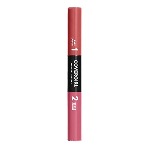 COVERGIRL Outlast All-Day Color & Lip Gloss, Coral Crave, 0.2 Ounce (packaging may vary)