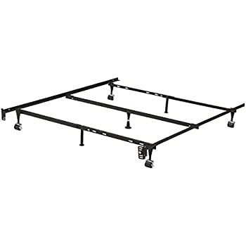 Steelock Bed Frame With Wheels