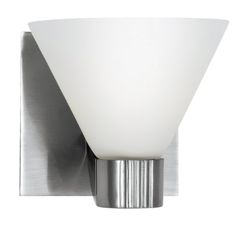 Eurofase 19428-017 Martini 1-Light Wall Sconce, (Martini Wall Fixture)