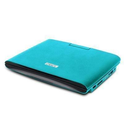 PCT Brands 70667-PG Cinematix Slim Design Portable DVD Player Turquoise