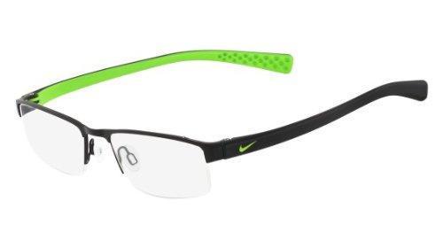 Nike Eyeglasses 8095 001 Matte Black Demo 50 17