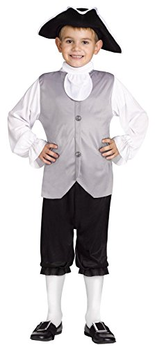 Colonial Children Costumes (Colonial Boy Child Costume - Large)
