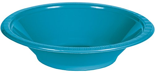 Creative Converting Touch Plastic Turquoise