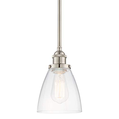 Round Glass Pendant Light Fixture in US - 8