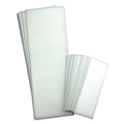 Rayson Non Woven Facial and Body Wax 100 Strips, 50 small 50 ()