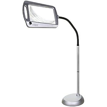 Amazon Com Magnifying Floor Reading Lamp 5x Full Page