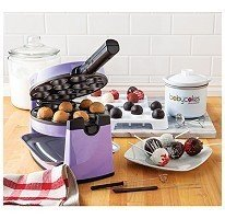 The Original Babycakes Cake Pop Kit with Flip-Over Cake Pop Maker & Chocolatier