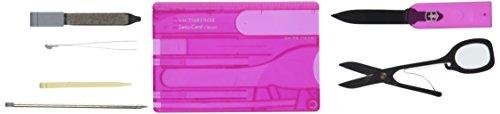 Swiss Army SwissCard Translucent Pink