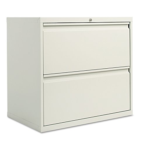 Alera LA523029LG 30 by 19-1/4 by 29-Inch 2-Drawer Lateral File Cabinet, Light Gray