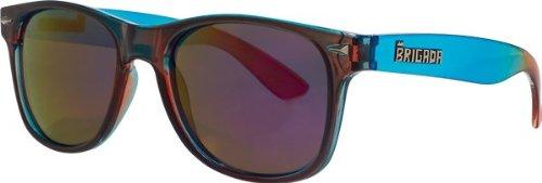 Brigada Lawless Sunglasses Blue/Red Fade