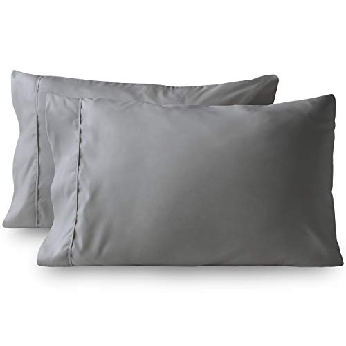 Bare Home Premium 1800 Ultra-Soft Microfiber Pillowcase Set