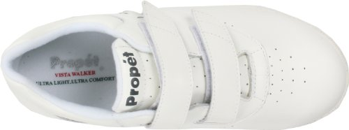 Propet Smooth Women's White Sneaker Vista Strap rxYrwCqp