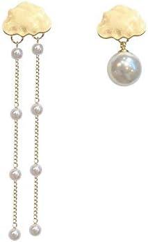 ZT-TTHG 東大門キュートな繊細な雲の真珠のイヤリングは、女性のファッションの気質の潮のイヤリングをデザイン