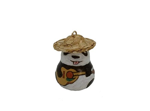Keychain Ornaments Guita Panda Nature Gourd Box Set Decoration Handmade Gourd Art Crafts Gifts (1) (Tree Gourd)