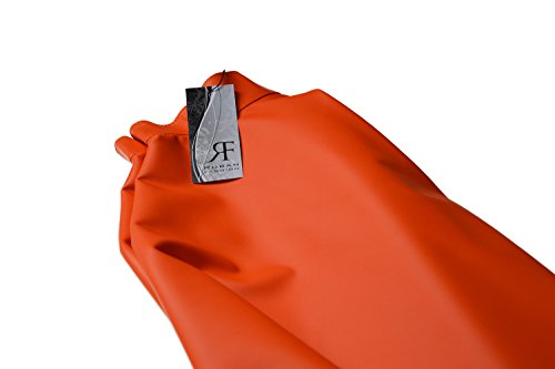 Trapze Jupe Orange Femme Mini Roban Fashion ExqgB0Cwna