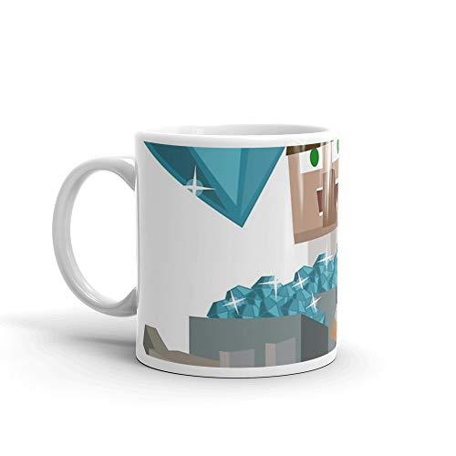 DanTDM The Diamond Minecart - Minecraft Youtuber 11 Oz Ceramic]()