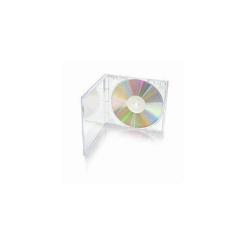 Mediaxpo Brand 400 STANDARD Clear CD Jewel Case