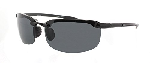 Fiore Maui Life TR90 Polarized and Non-Polarized Partial Flex Frame Semi Rimless - Flex Sunglasses