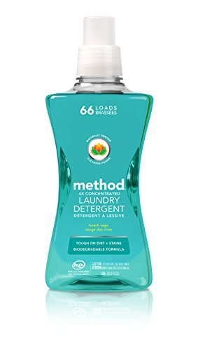 4X Concentrated Laundry Detergent, Beach Sage, 53.5 oz Bottl