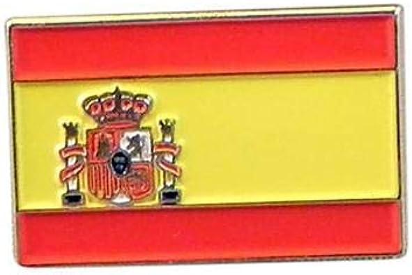Ashton and Finch España Bandera española Metal Esmalte Solapa Pin Insignia: Amazon.es: Joyería