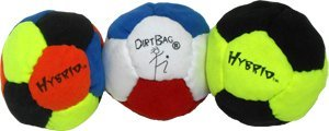 Dirtbag Hybrid Special Footbag/Hacky Sack 3-Pack by DirtBag