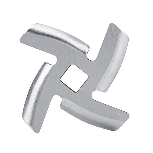 """"""" 1Pcs Stainless Steel Meat Crusher Mincer Plate Blade Cutter Knife Parts for Meat Grinder Kitchen Replacement"""" (L)"""