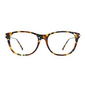 TIJN Dainty Tortoise Zebra Frame Wayfarer Optical Glasses