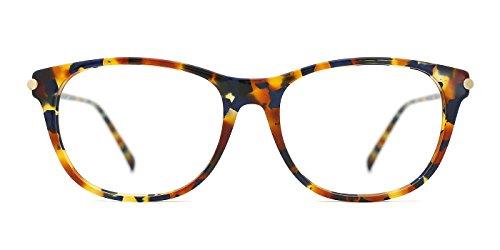 TIJN Dainty Tortoise Zebra Frame Wayfarer Optical - Gasses Eye